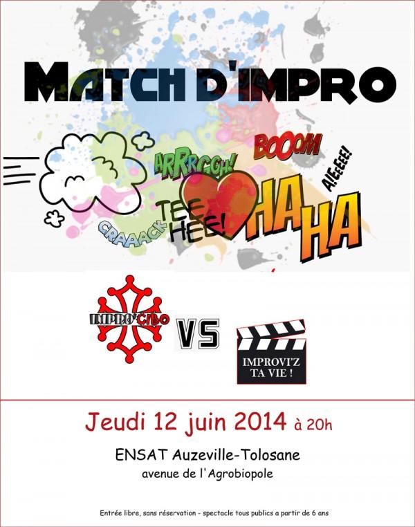 Match d'impro theatre